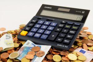 geld und taschenrechner