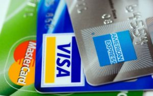 verschiedene kreditkarten
